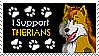 I Support Therians Stamp by DorianHarper