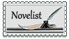 Novelist Stamp by DorianHarper