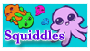 Squiddles Stamp by DorianHarper