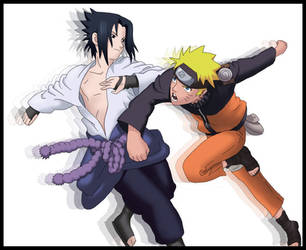 Naruto Shippuuden by rishi-san