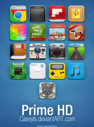 Prime HD Icons