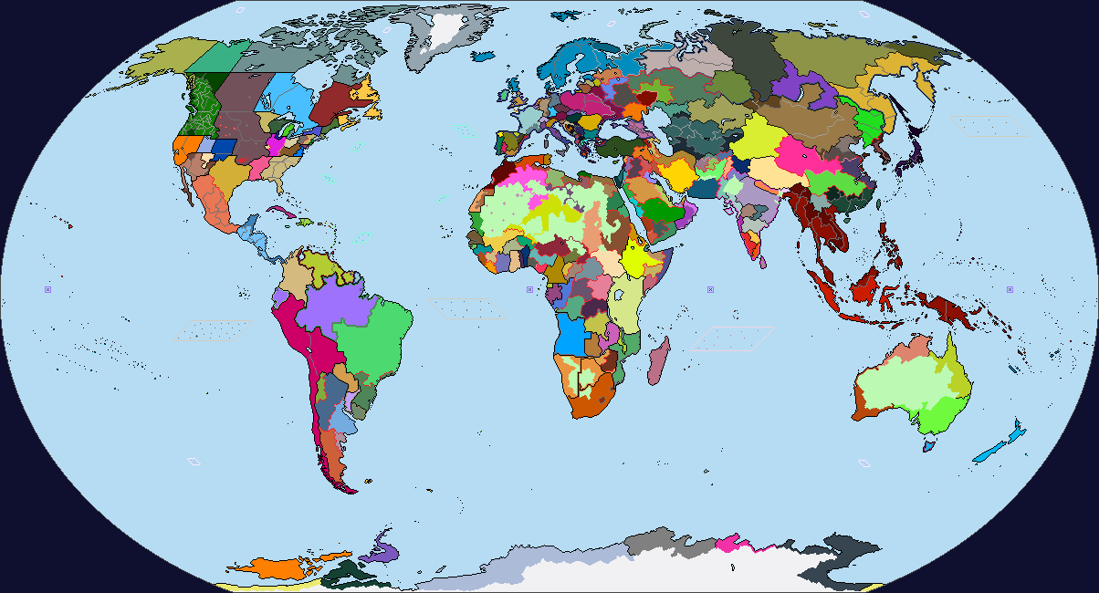 CentauriUniverse Political Map Of Earth WIP By Vylinius On - Earth political map