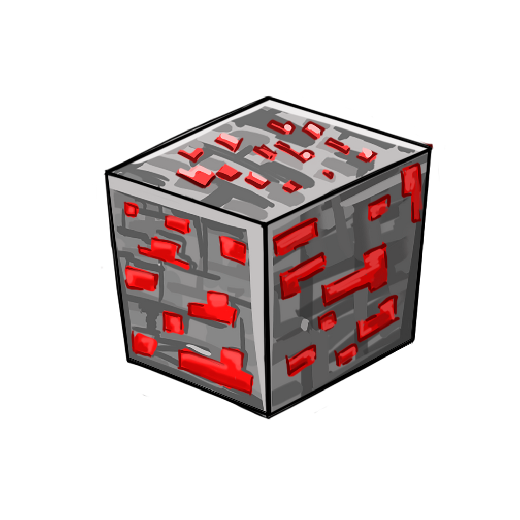 how to make redstone block
