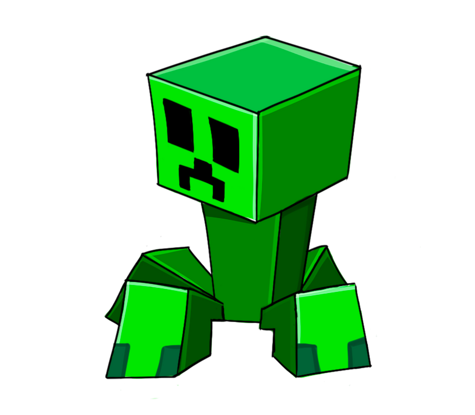 Minecraft Little PNG Creeper [RedSheep Collestion] By