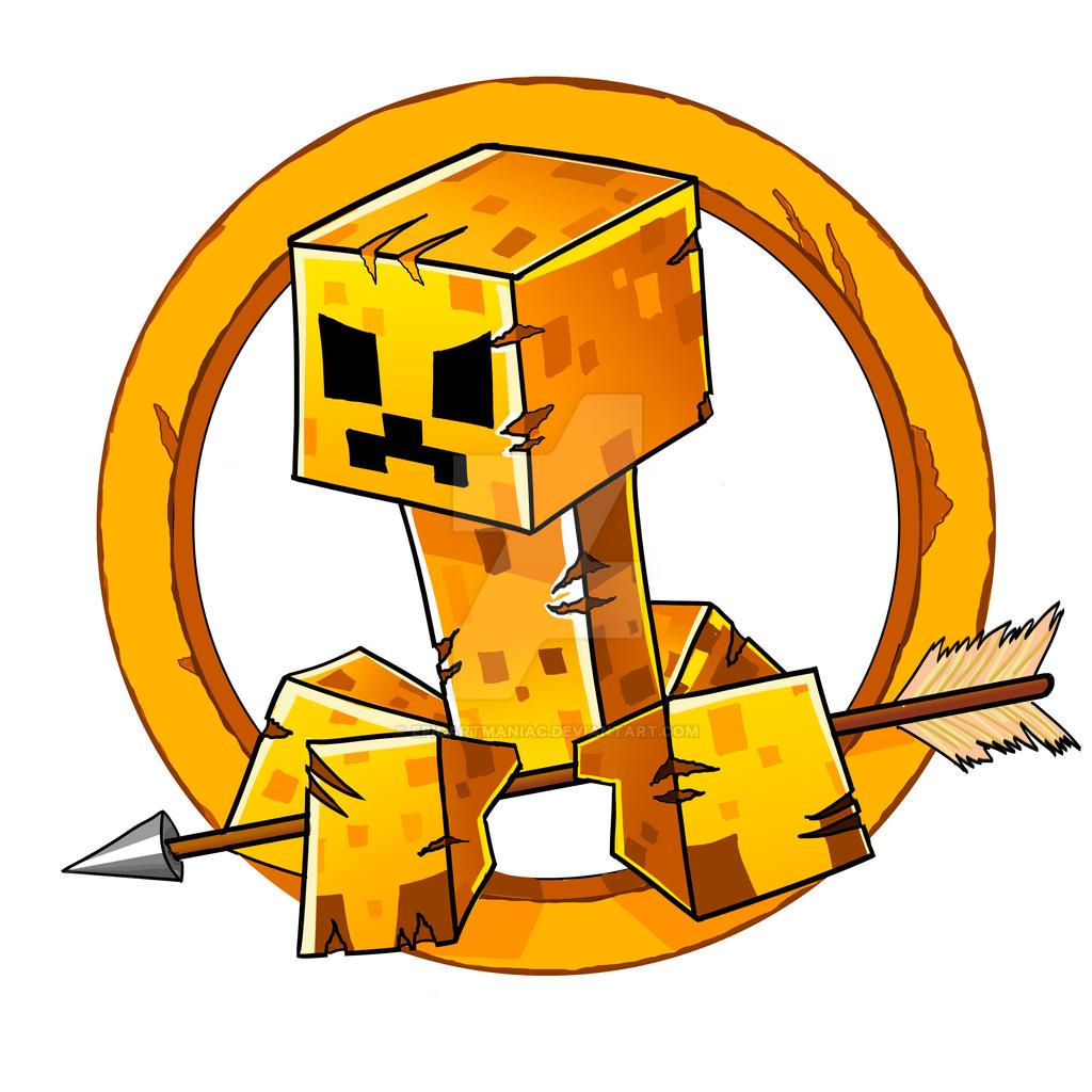 minecraft hunger games logo by epicartmaniac on deviantart