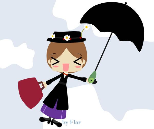Mary Poppins by hanakosu