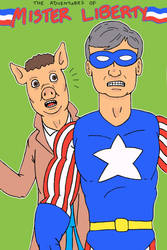 Harry Hamm and Mister Liberty