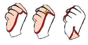 Otaku Senshi Glove Variants
