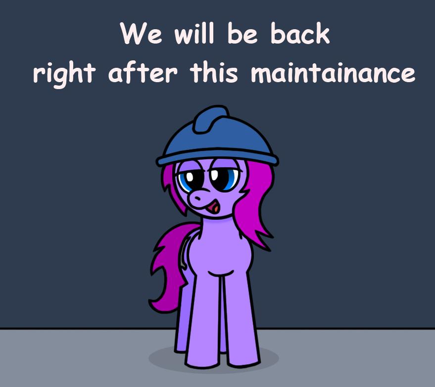OC Pony: Hiatus by GoggleSparks