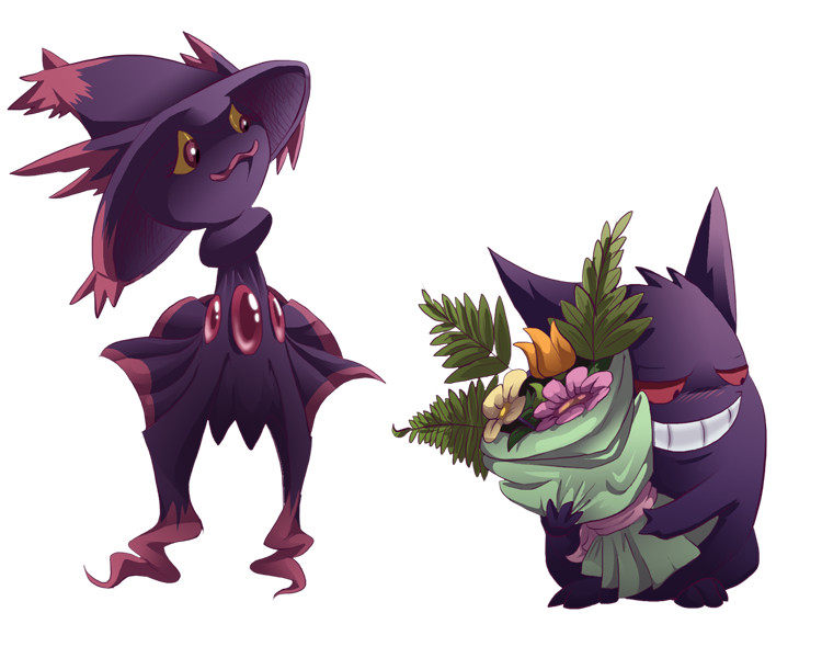 Pokemon Of The Day Gen 4 Mismagius Witchy Woman Warflame
