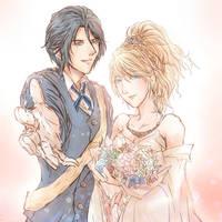 FF15:King_Noctis_and_Lunafreya.