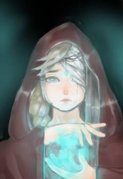 Blind Sorceress