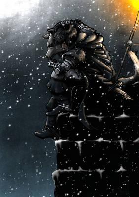 Jon,Fantasma,El muro