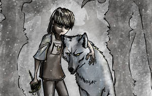 Aryna, Nymeria, Aguja by jucari