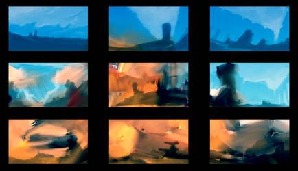 Neb Landscapes Sketches 02
