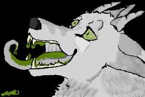 Beast headshot by Terraspirit