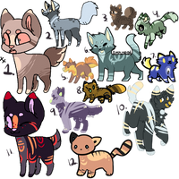 Reduced Price Adopts (1/12 open) by SanityFox