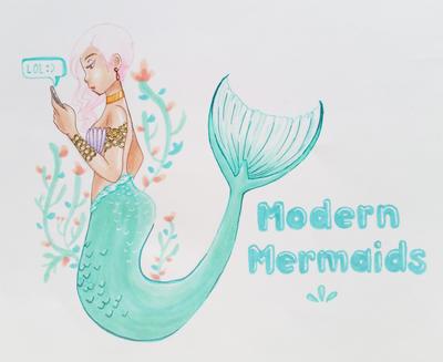 Modern Mermaids by karikun