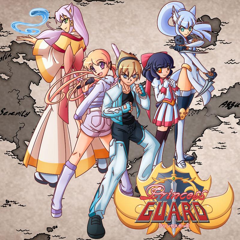 Princess Guard poster ver1.0