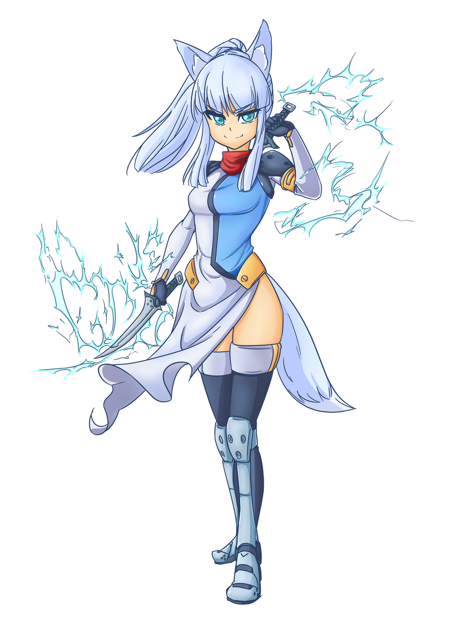 Yukina Katsukage by AngriestAngryArtist