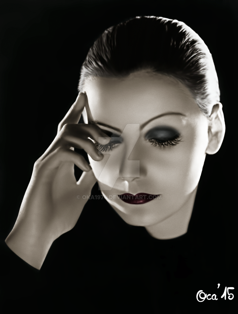 greta garbo 1930s by oka1974 on deviantart