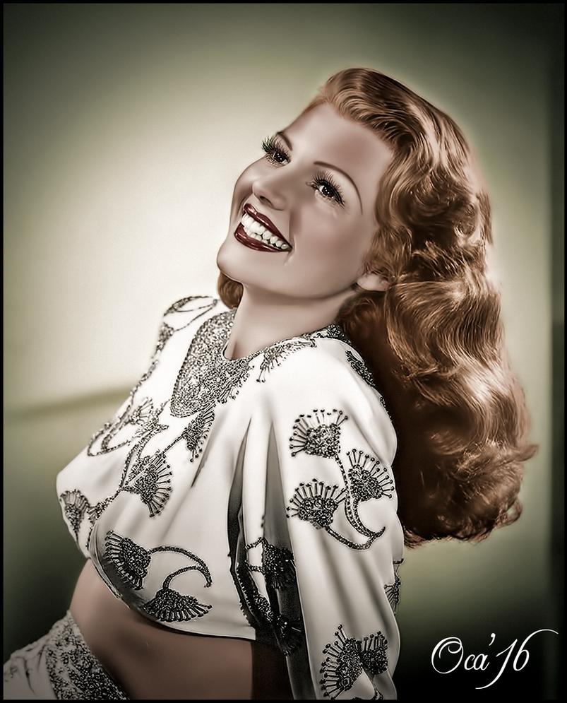Rita Hayworth  by OKA1974