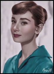 Audrey Hepburn, by OKA1974