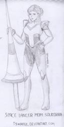 Space Lancer Mom by TswordZ