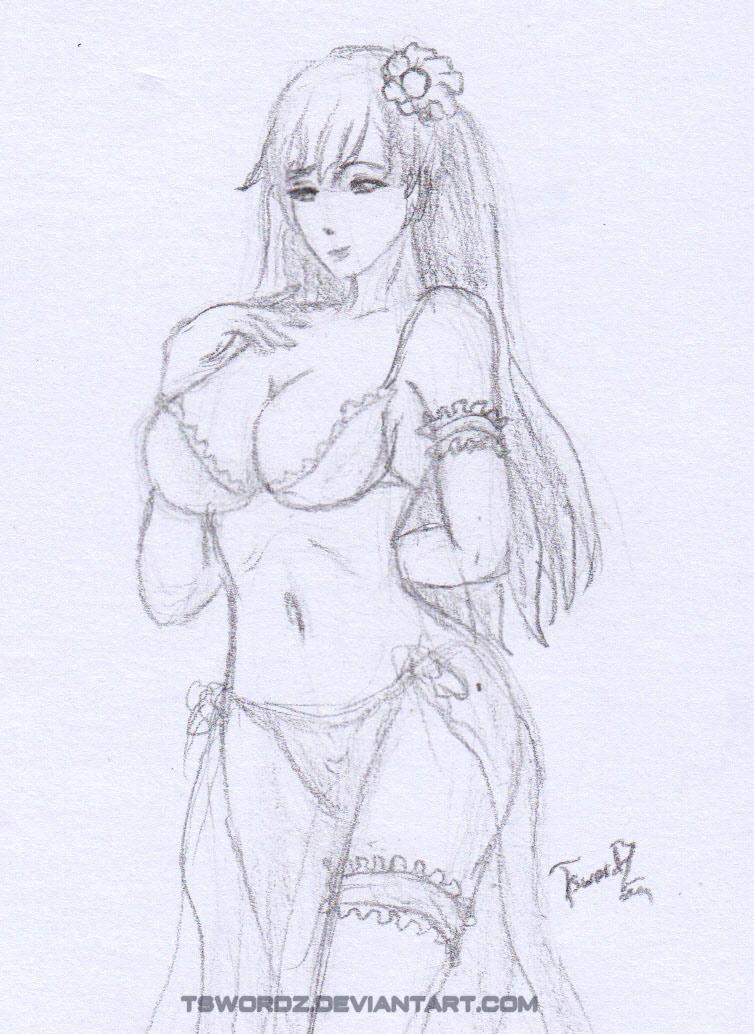 FGO Mata Hari Bikini by TswordZ