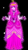 princess bubblegum anime style
