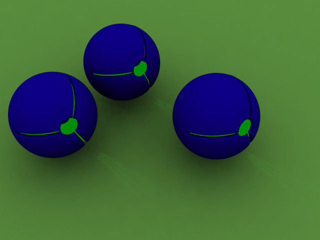 glowballs by mocap