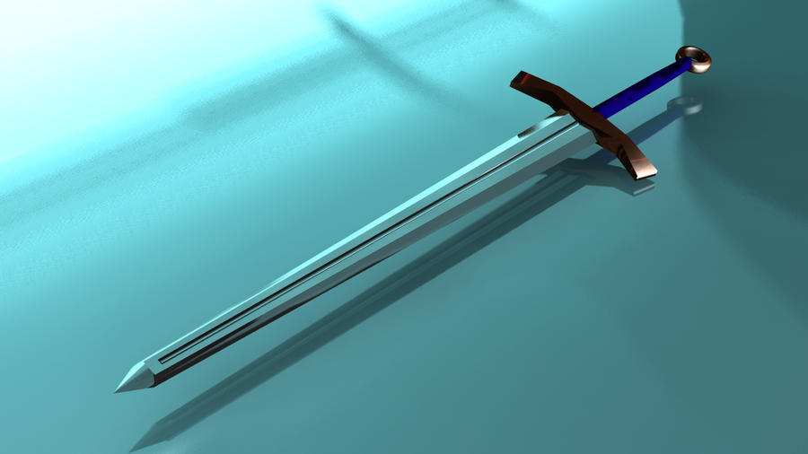 Black knight sword by mocap