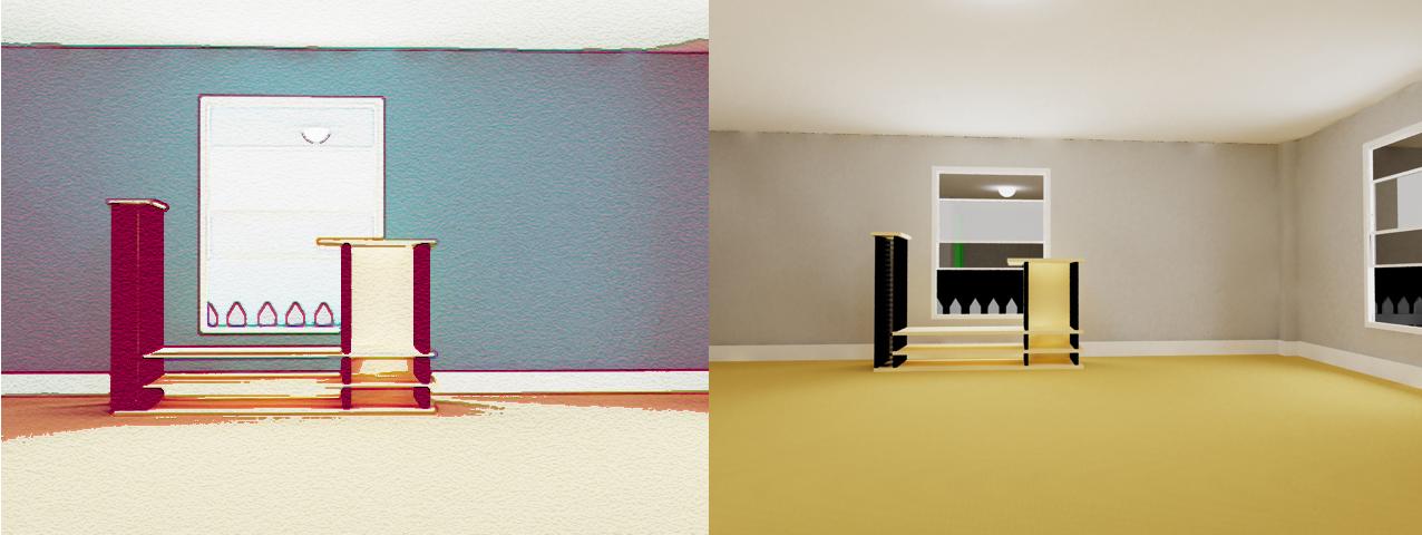 Room wip by mocap