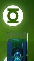 Green Lantern Blue Lantern Drink by mocap