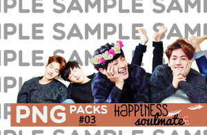 PNG/RENDER pack #03. HAPPINESS SOULMATE