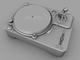 Dj Turntable by andrestorres12