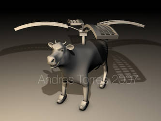 Flying Cow by andrestorres12