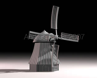 Rocket Mill by andrestorres12