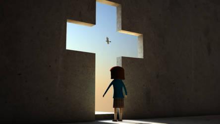 Jesus, la puerta al cielo by andrestorres12