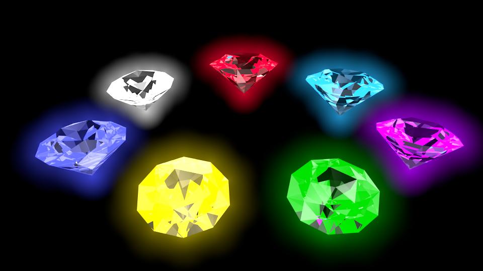 3d Model Chaos Emeralds By Rawlingsartwork On Deviantart