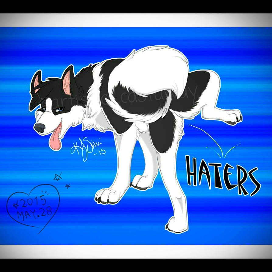 Haters Gonna Hate by Galaxys-Most-Wanted