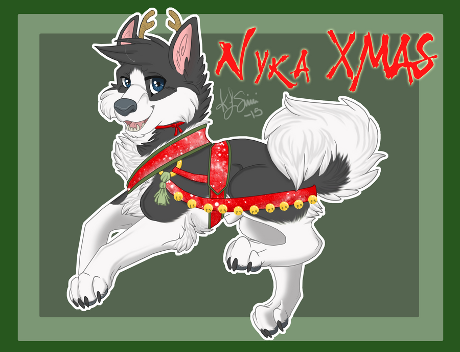 XMasNyka by Galaxys-Most-Wanted