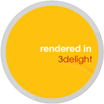 Rendered In 3delight Sticker by cgartiste