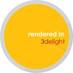 Rendered In 3delight Sticker by cgartiste