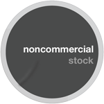 Noncommercial Stock Sticker by cgartiste