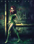 Poison Ivy Animated Style by cgartiste