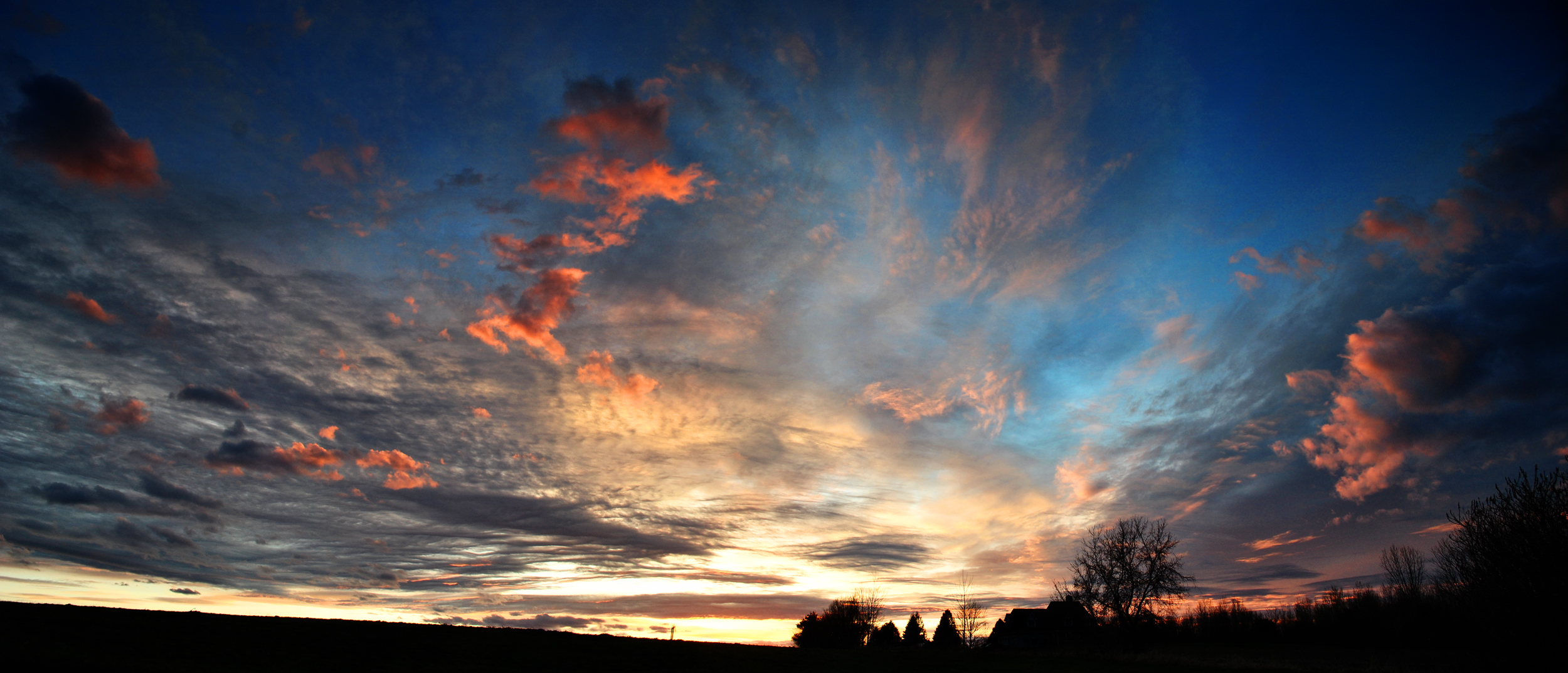 Sunset April 8, 2012 by silverdragon76