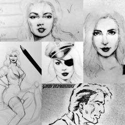 Some sketches by girib