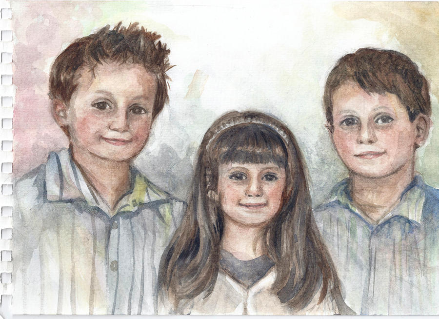 My cousins by Pumpkin-Pasty