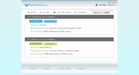 SocialGlobe.eu - Admin